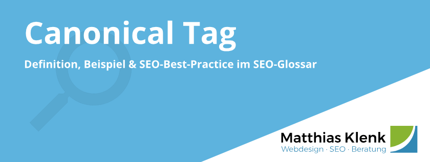 Canonical Tag Definition, Beispiel SEO-Best-Practice