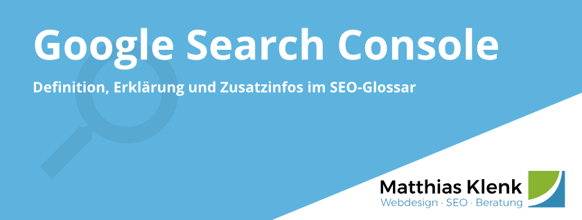 Google Search Console GSC - Webmaster Tools WMT